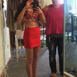 Size 00 Short homecoming dress